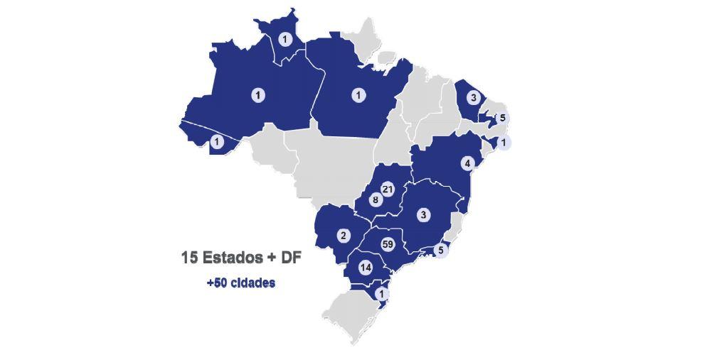 bleufit-regioes-brasil bluefit Bluefit, rede de academias, protocola IPO bleufit regioes brasil